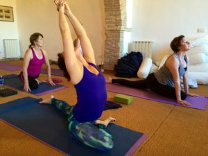 Casperia yoga retreat with yoga body