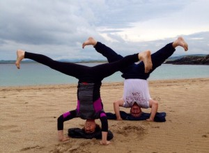 Yoga everywhere - Dunfanaghy - Donegal